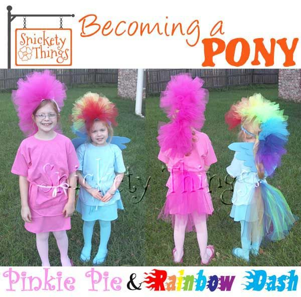 Snickety Things: Becoming a Pony, My Little Pony costumes