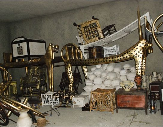 This is how the tomb of the boy king Tutankhamun appeared to archaeologist Howard Carter when he discovered it in 1922.