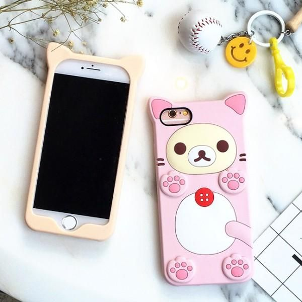 coque iphone 6 kawaii chat | Iphone, Silicon case, Silicone phone case