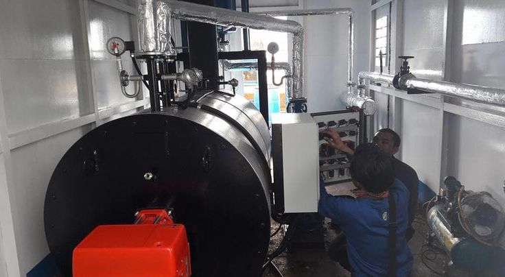 Jual Water Tube Boiler Indonesia Kapasitas 1T/h - Jual Thermal Oil Heater | Tokopedia