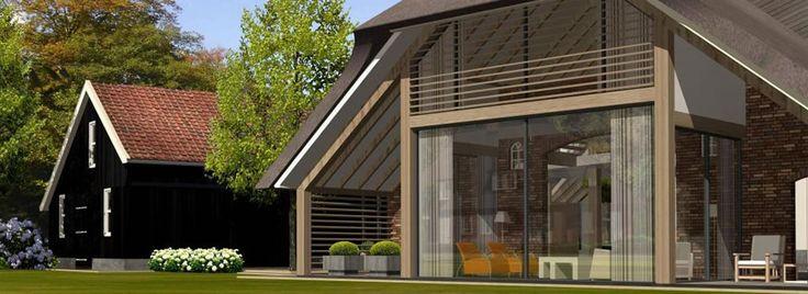 Nieuwbouw landelijke woning google zoeken huis for Landelijk bouwen architect