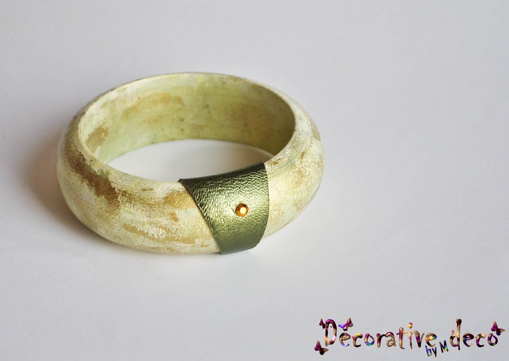 Bracelet - Golden Green