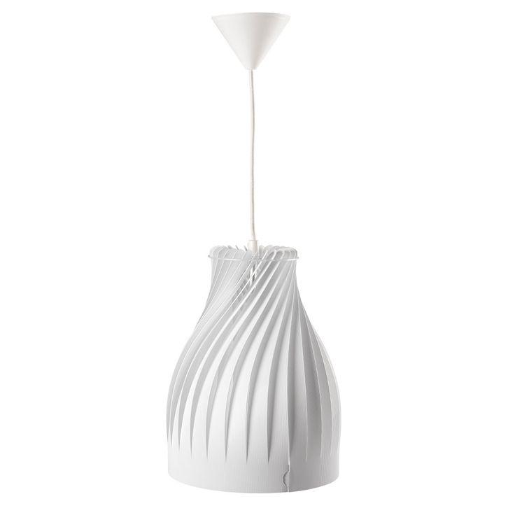 Hängeleuchte Kanlux Cordes E27 weiß Beleuchtung mit LED Pinterest - badezimmer led deckenleuchte ip44