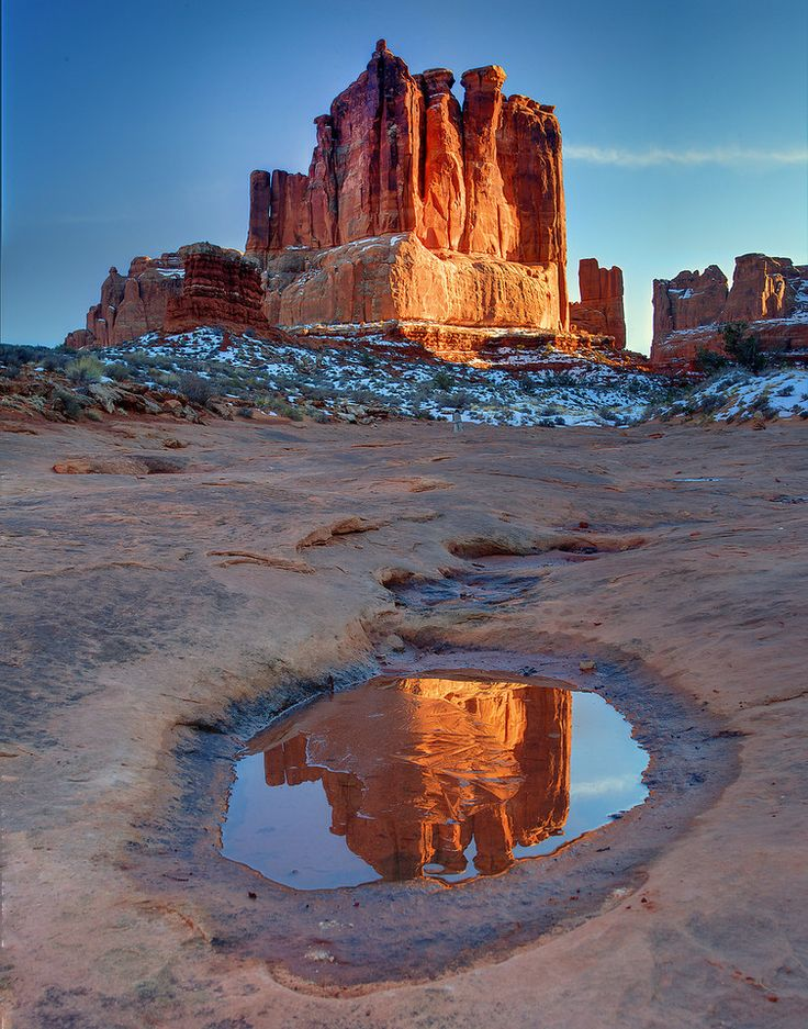 Arches National Park, Utah; photo by Kevin McNeal