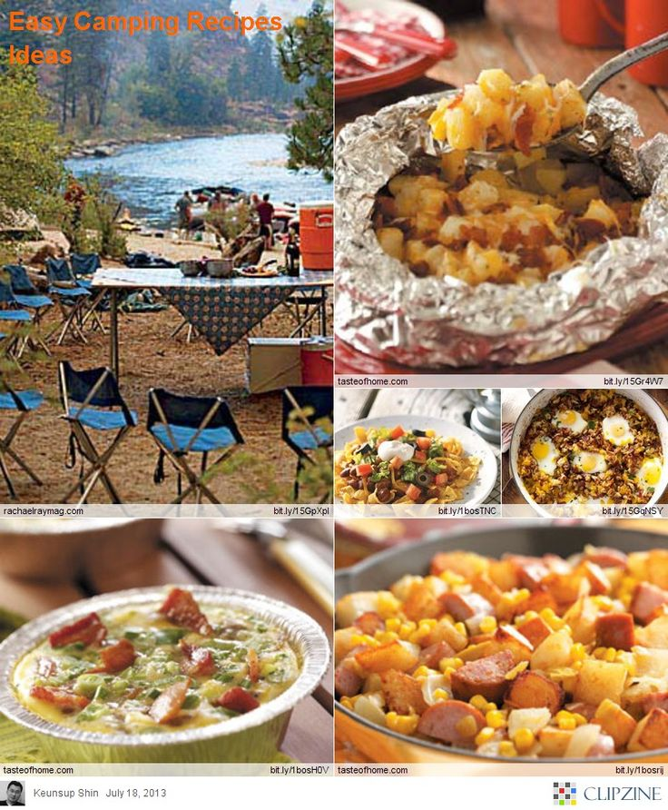 Easy Camping Meals: Who Said Campers Can't Eat Fabulous Meals? Check Out These