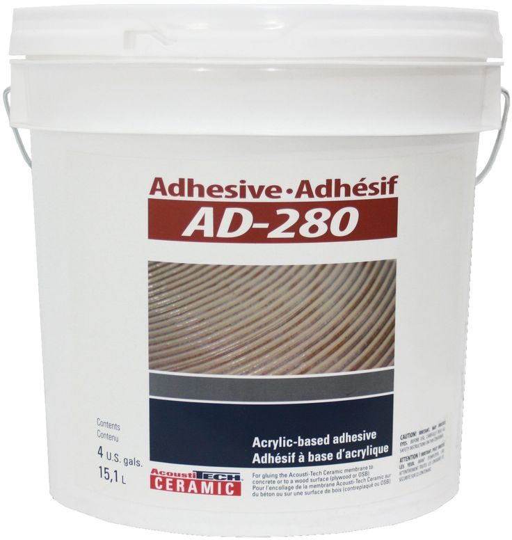FREE SHIPPING! Adhesive AD-280 (4 gal.). This acrylic-based adhesive is specially made for all your ceramic projects.