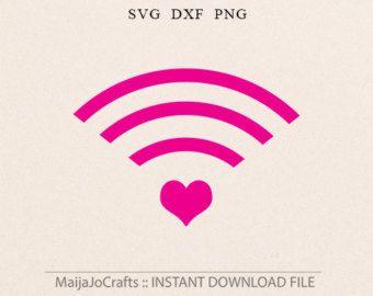 Amour SVG DXF Cricut téléchargements fichiers par MaijaJoCrafts