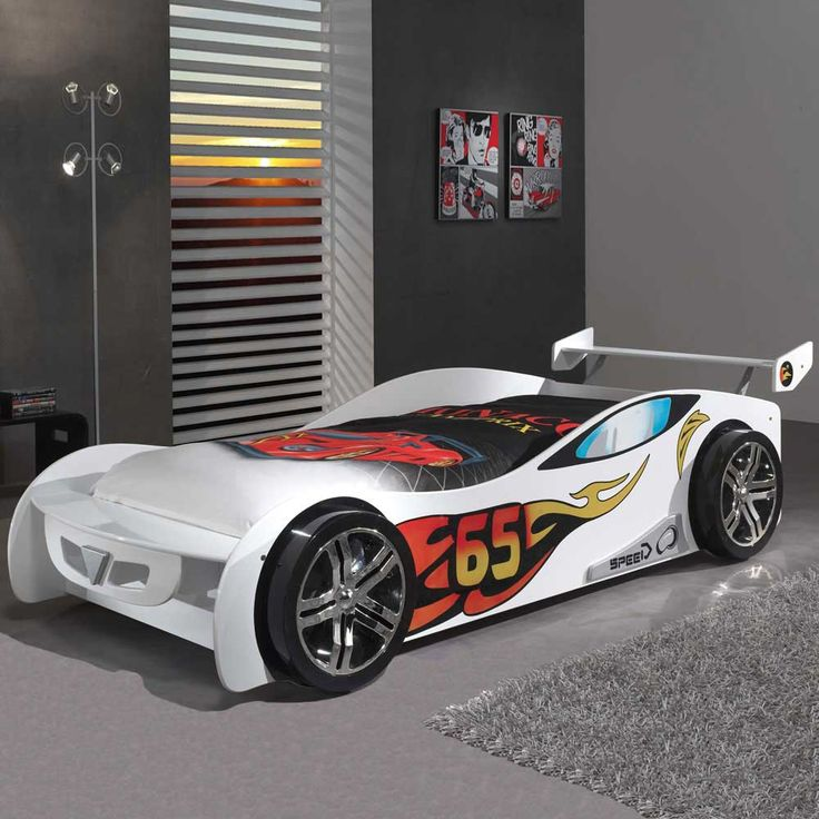 Kinderbett auto weiss  Die besten 25+ Kinderbett auto Ideen auf Pinterest | Cars ...