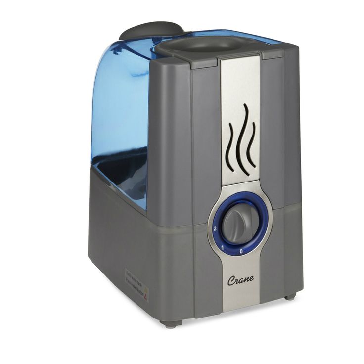 Crane 1-Gallon Tabletop Warm Mist Humidifier