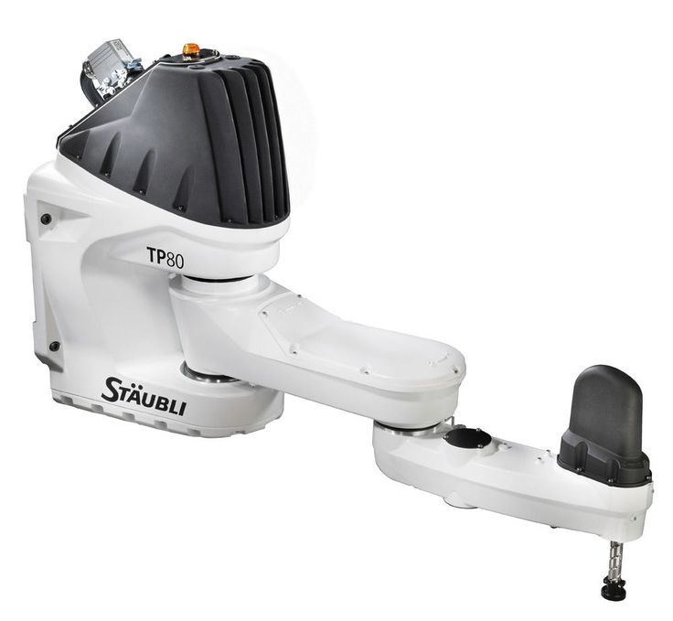 4 axis SCARA #robot - max 1 kg, max 800 mm | TP80 fast Picker by Stäubli Robotics. #Industrial machines and equipment on #DirectIndustry