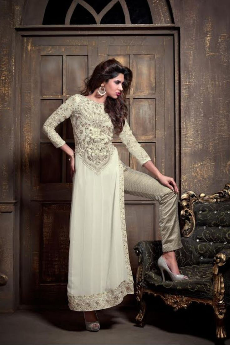 Georgette maisha straight cut style dress now available at kaseesh KASEESH-MM-15005