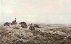 .J.Chełmoński - Dropie 1886