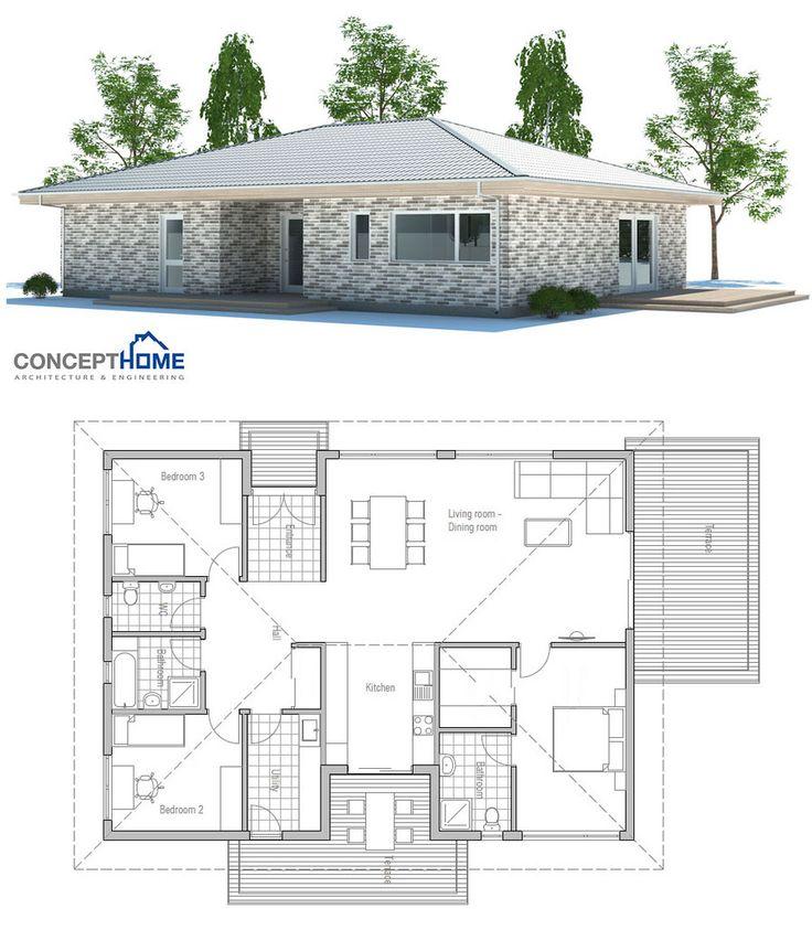 17 meilleures id es propos de plans de maison bungalow for Site de plan de maison