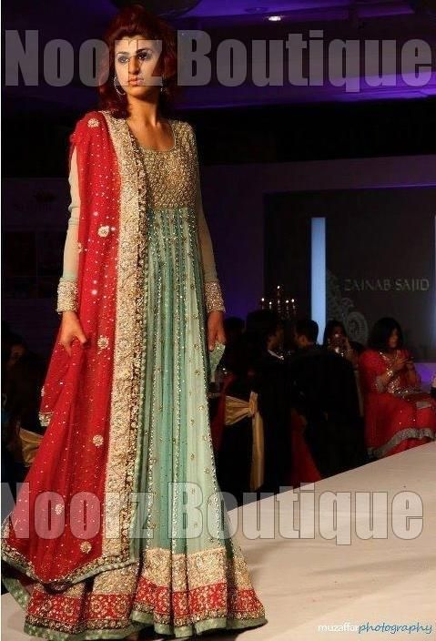 New fashion party dresses in pakistan boutique