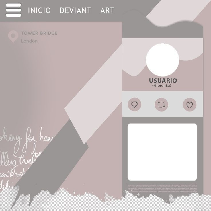 Template ( ‿ )♡ | Desain pamflet, Pengeditan foto, Kolase foto
