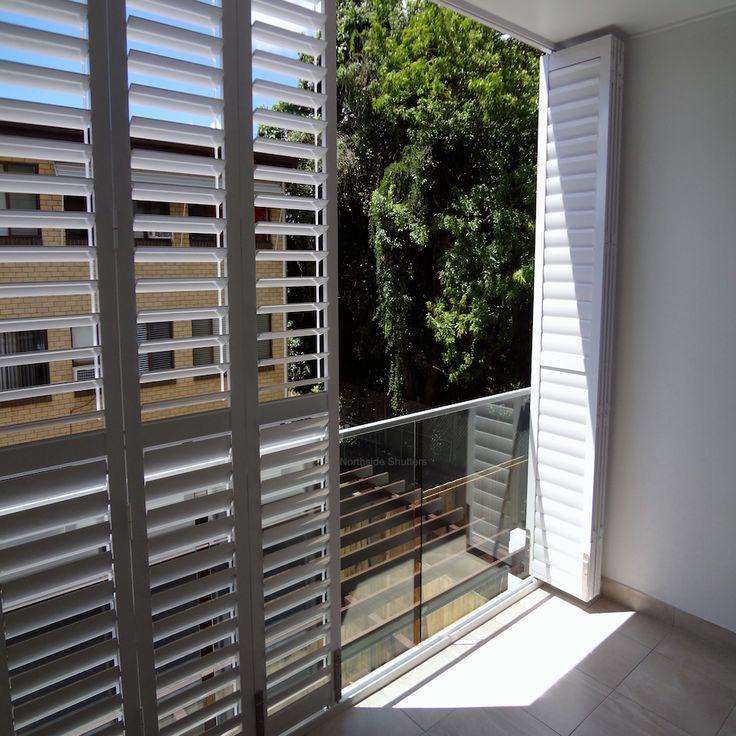 Exterior aluminium shutters multifold