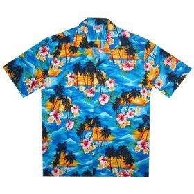 skyburst boy hawaiian shirt