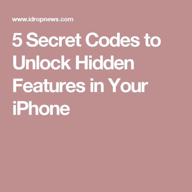 5 Secret Codes to Unlock Hidden Features in Your iPhone