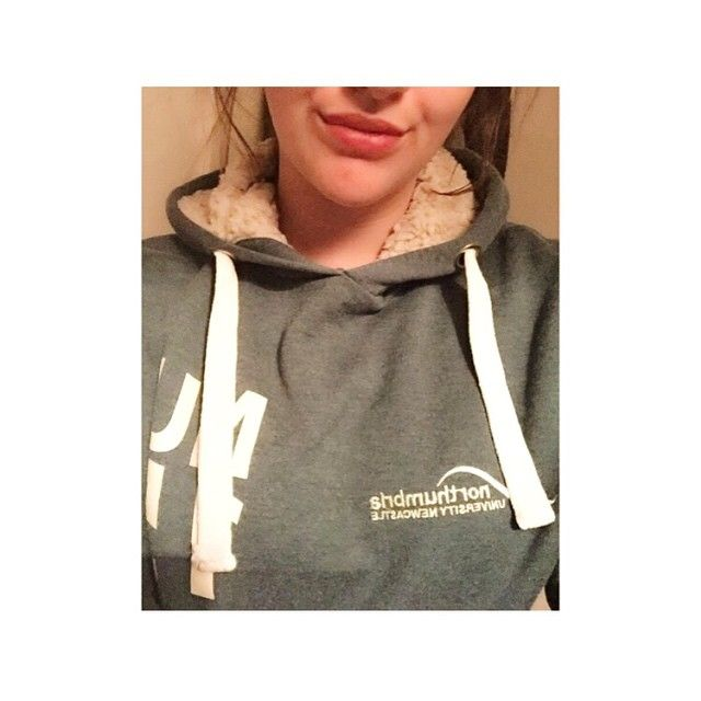 @shelbiebairstow via Instagram | Northumbria University | #IWANTNU | Hoodie