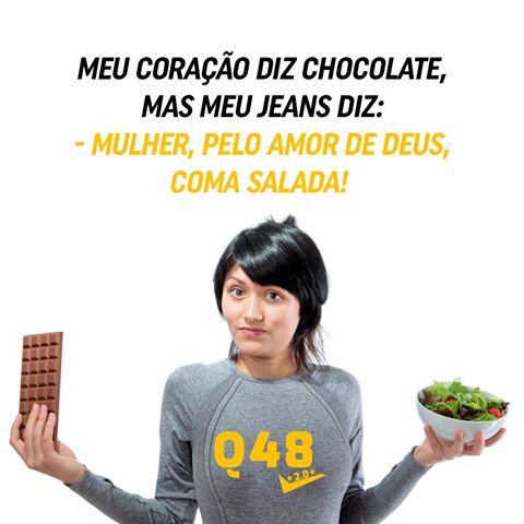 Com o Q48 você não precisa abrir mão das coisas que gosta de comer. São apenas 15 minutos por dia e, em 8 semana, você terá resultados de 1 ano de academia. Vem pra nossa família! http://www.corpoesbelto.com.br/q48/