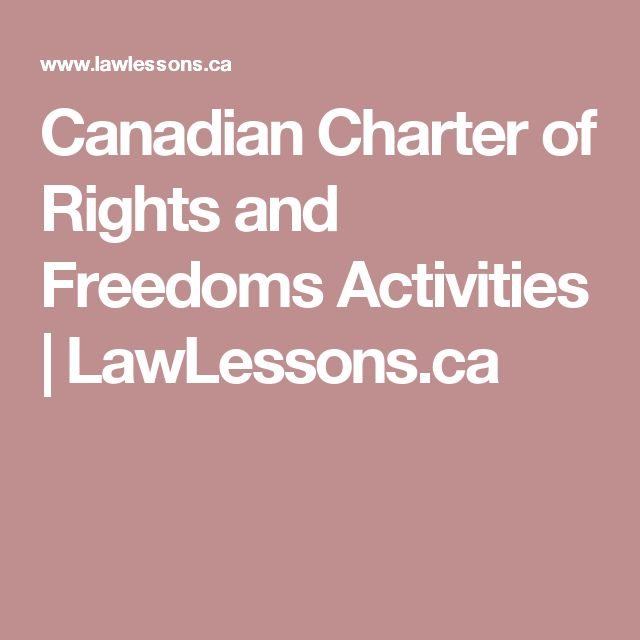 an analysis of the freedom of the canadian people in the charter of rights and freedoms Jump to navigation jump to search section 25 of the canadian charter of rights and freedoms is the first section under the heading general in the charter, and like other sections within the general sphere, it aids in the interpretation of rights elsewhere in the charter.