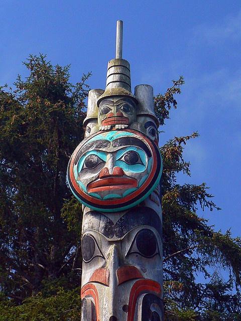 Watchmen - Kaay'llnagaay - Haida Gwaii by lens gazer, via Flickr