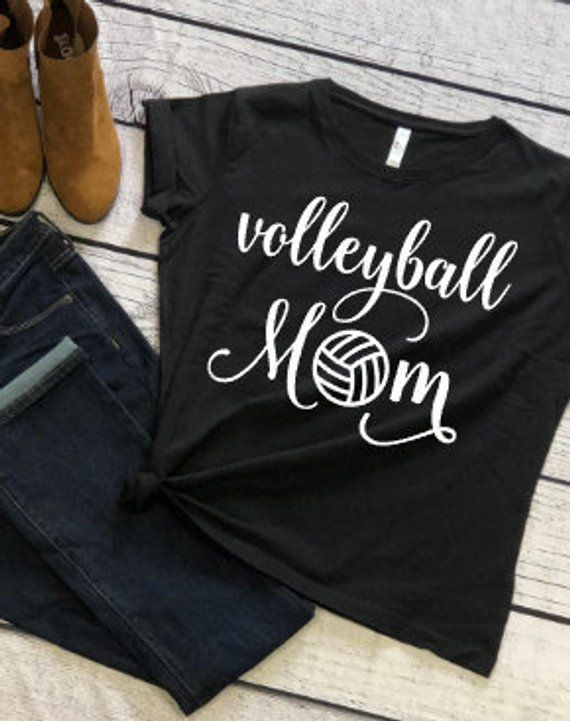8bb338f02d6 Volleyball Mom - Volleyball - Sports Shirt - Game Shirt - Gift for Mom -  Volleyball Gifts - Volleyba