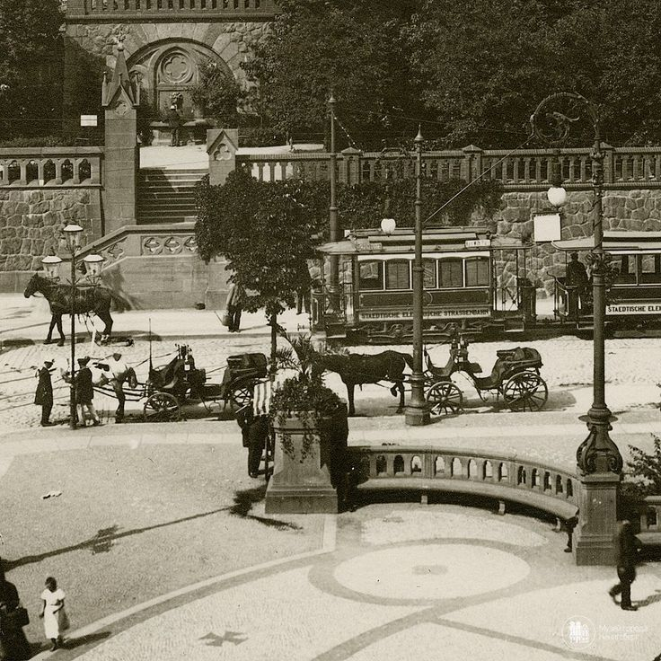 Koenigsberg 1900 am Kaiser Wilhelm Platz