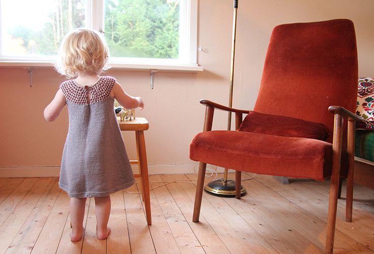 Impress dress - free knitting pattern - Pickles
