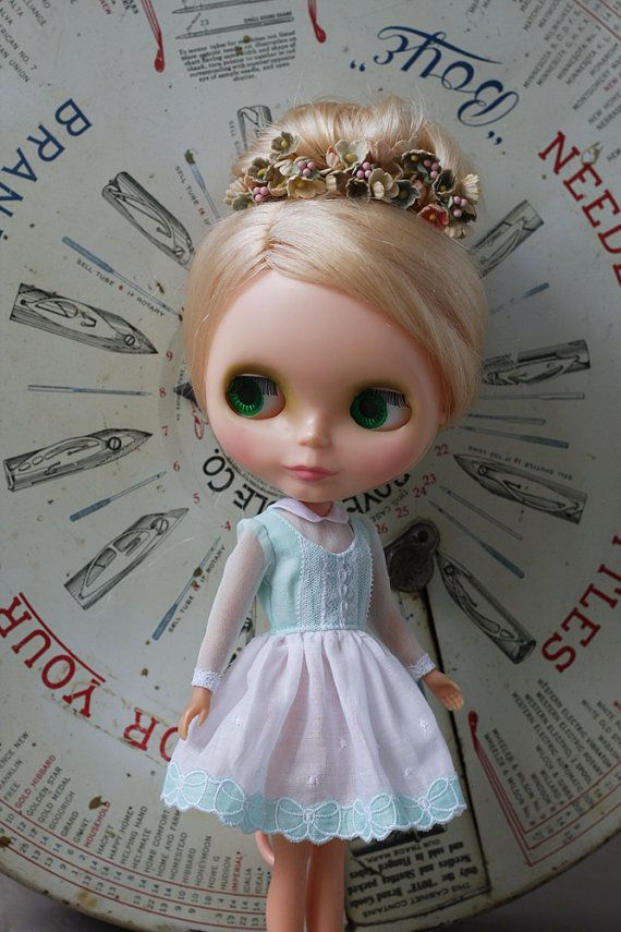 PREORDER  Eleanora Dress for Blythe Doll by pommepomme on Etsy, $49.00