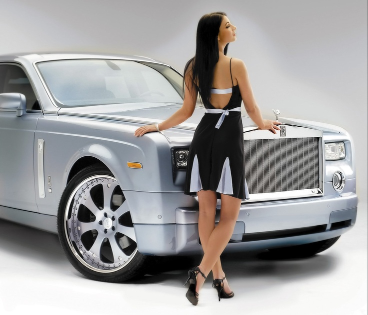 Rolls Royce Phantom Ghost Ad Poster