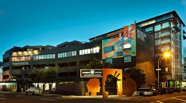 Museum Art Hotel, CBD Wellington, Reception only, packages from $185 per person.
