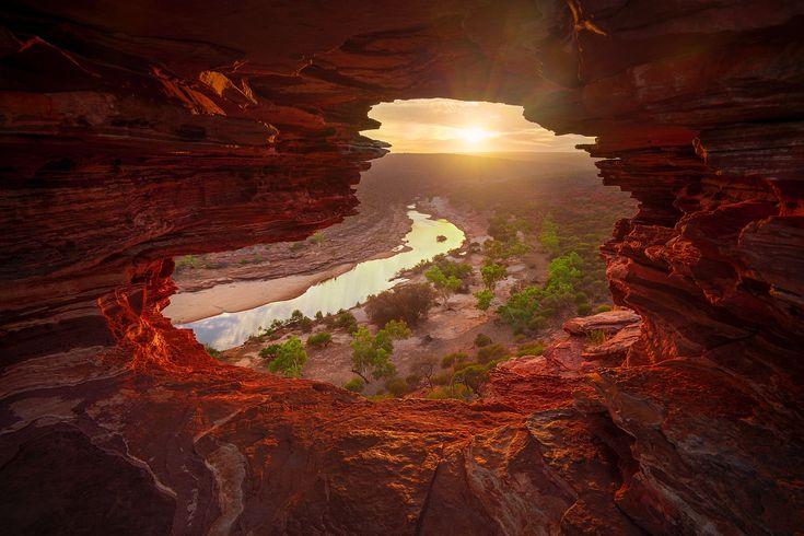 'Natures Windows' - Kalbarri National Park, Western Australia [1600×1066]