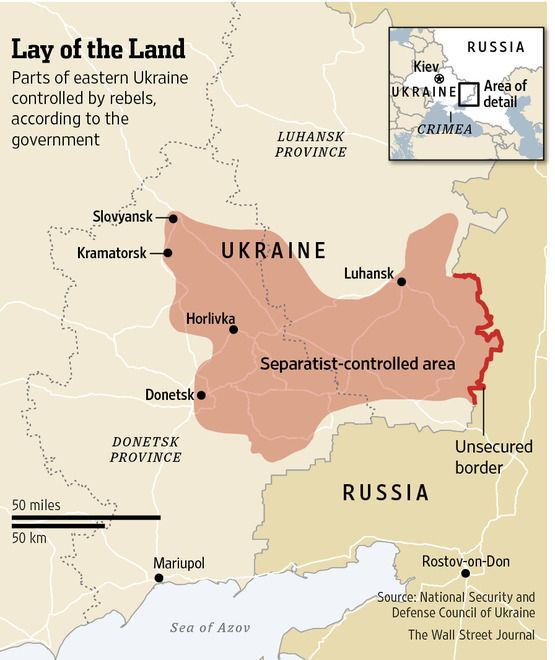 ukraine declares one week cease fire in fight with pro russia rebels