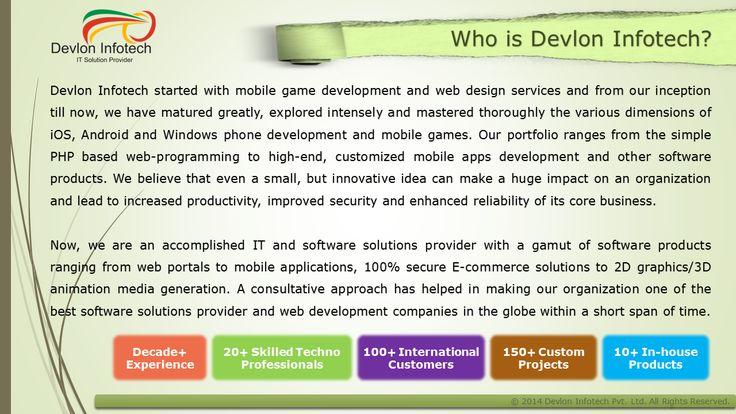Devlon Infotech IT Solution Provider