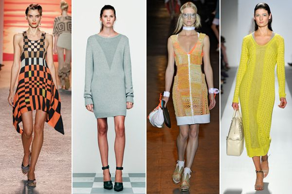 spring knit dress - Google 検索
