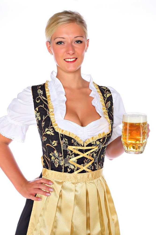 1174 - 3 pc Dirndl Dress Trachten Oktoberfest 4,6,8,10,12,14,16,18,20,22 #LukasDirndlTrachtenmode #Dress