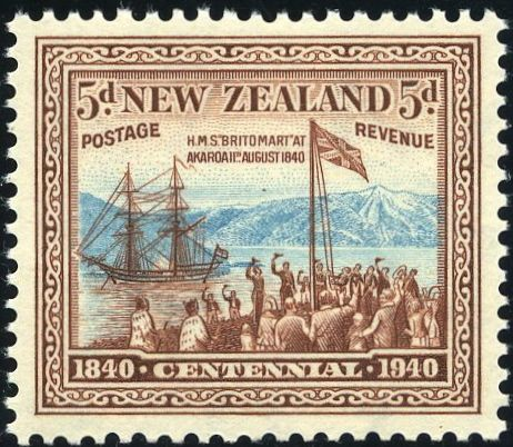 King George VI Postage Stamps: New Zealand 1940 (2 Jan-8 Mar) Centenary of Proclamation of British Sovereignty SG613/25