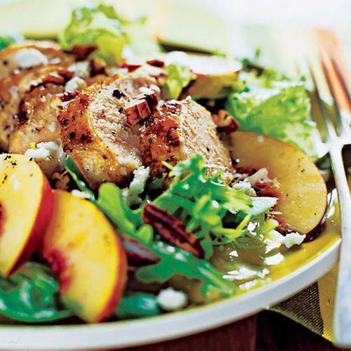 Grilled Chicken and Nectarine Salad <br /> - Grilled Chicken Ideas - Sunset