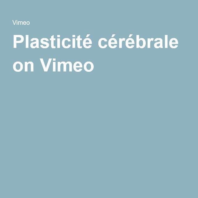 Plasticité cérébrale on Vimeo, Montessori, Céline Alvarez