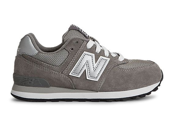 New Balance 574, Grey with White