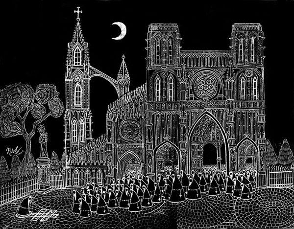 Pencil and Graphite by Roger Hoyos, via Behance