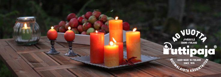 Kotimaiset käsintehdyt kynttilät