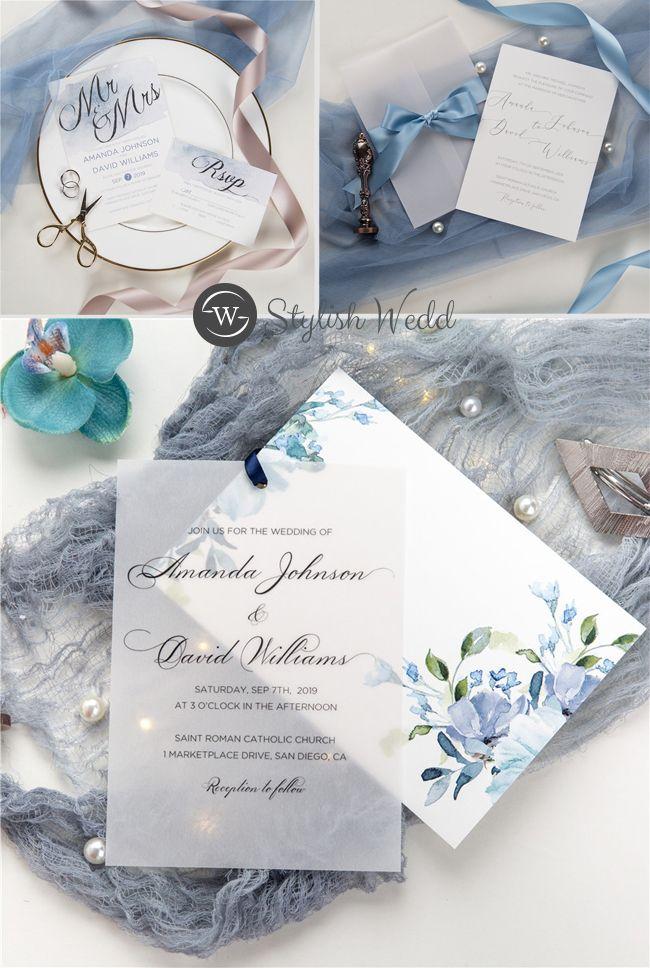 Shop Your Unique Wedding Invitations Online Stylishwedd Wedding Invitations Vintage Blue Destination Wedding Invitations Diy Unique Wedding Invitations