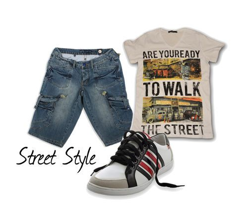 Καλοκαιρινό denim casual look #Millenniumshop