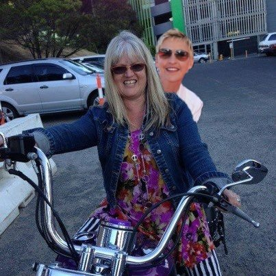 Just taking Ellen for a quick spin around Melbourne!!