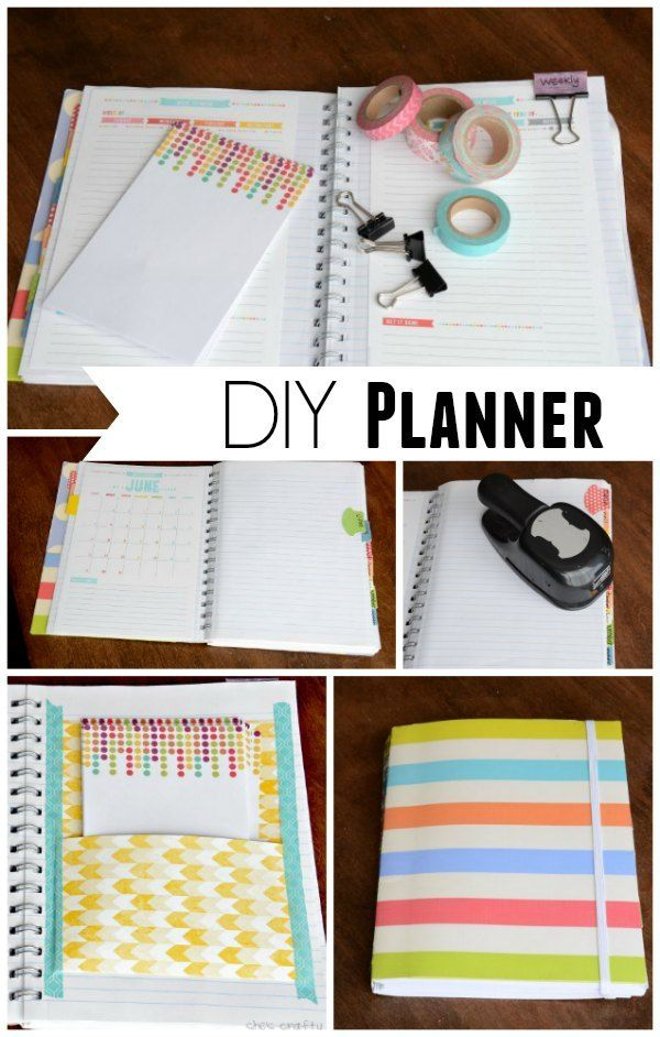 DIY Planner-for next year 2016. Make it personable.