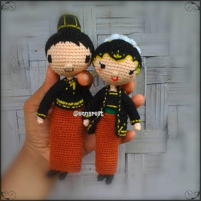 #amigurumi #wedding #javanese #crochet #cute #bonekarajut #nikah #pernikahanjawa #jawa #rajut