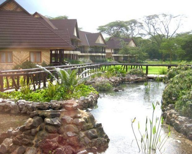 Sawela Lodge - is situated around Lake Naivasha with the natural Yellow/green acacia trees surrounding the lake side are on the shores of this fresh water lake. With the most ultra-modern facilities and unique architectural design of the lodge, the environment provides enriching relaxation with magnificent views of the volcanic Mount Longonot.
