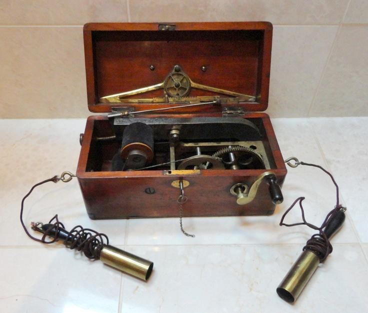 Antique Medical Equipment-Magneto-Electric Machine-Quack Doctor-Mid 1850's-L@@K!   eBay